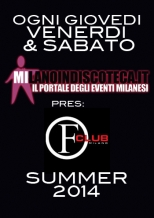 venerdi sabato estivo old fashion club milano