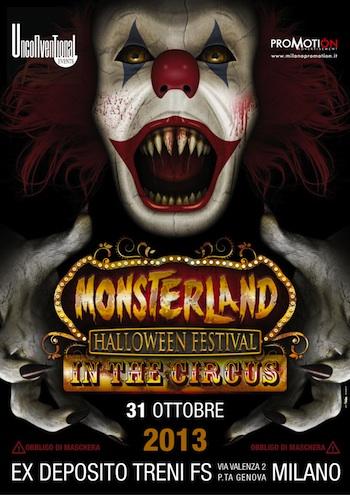 Foto: Monsterland Halloween Milano 2013