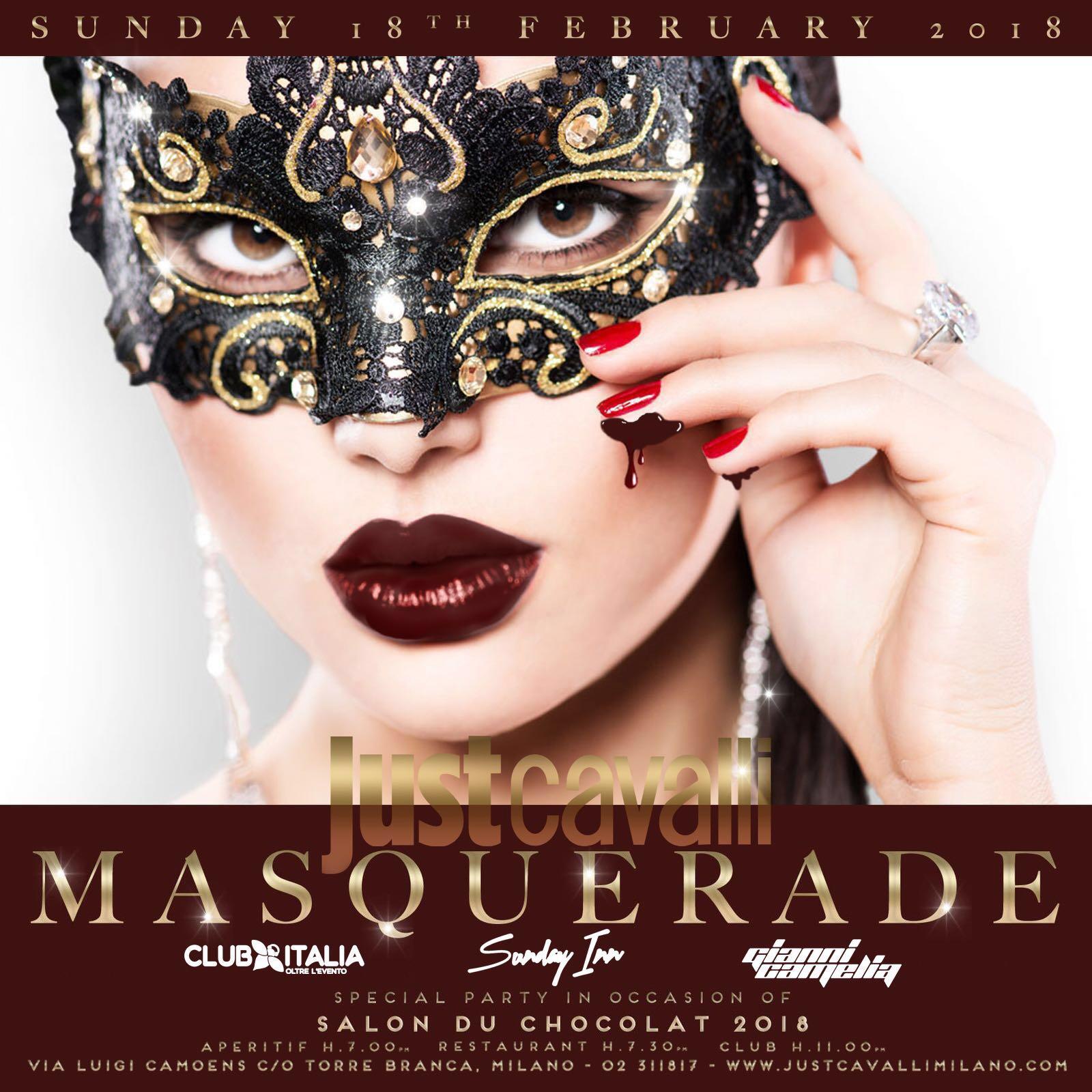 Foto: Domenica Just Cavalli Milano Masquerade