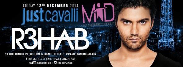 Rehab Just Cavalli Milano Venerdi 12 Dicembre
