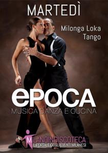 Martedi Milonga Loka Serata Tango Epoca Milano