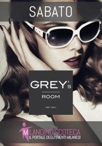 Sabato Universitario Grey's Room Club Milano