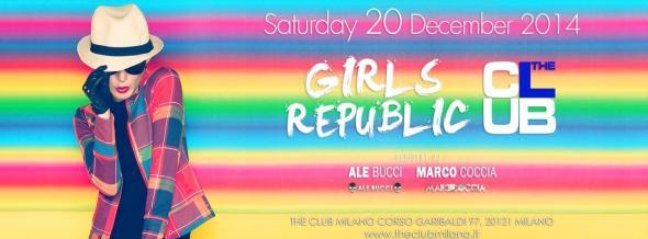 Sabato 20 Dicembre The Club Milano
