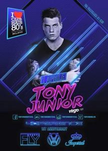 Tony Junior Club Haus 80s Milano