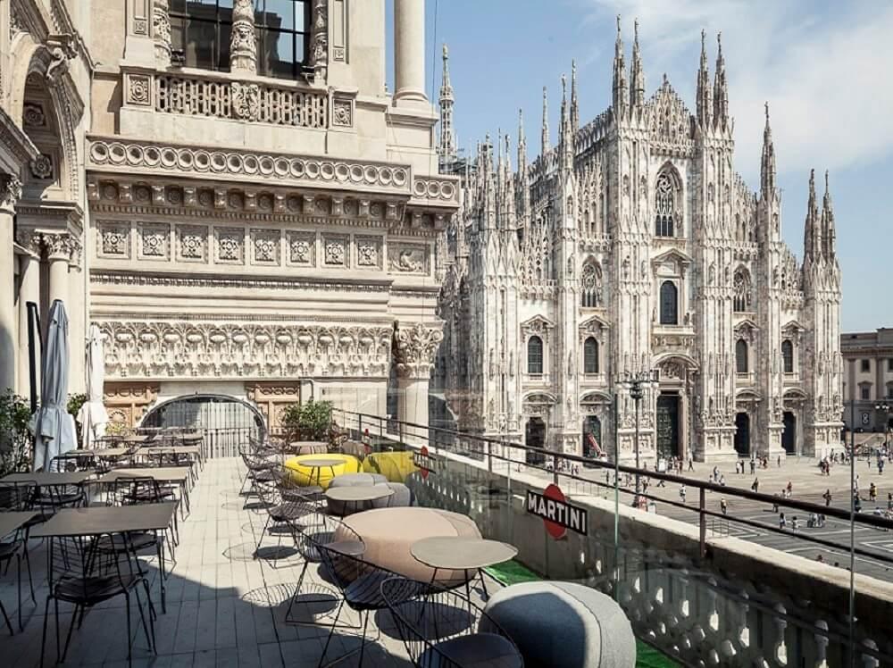 Terrazza Duomo 21 Milano In Discoteca