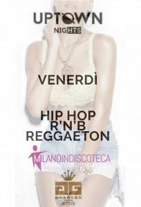 Venerdì Hip Hop G Garden Milano