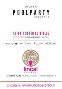 Venerdì Pool Party Linca Beach Paderno Milano