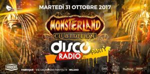 Monsterland Fabrique Discoradio Party