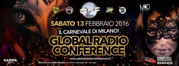 Banner Carnevale Karma Milano - Milanoindiscoteca