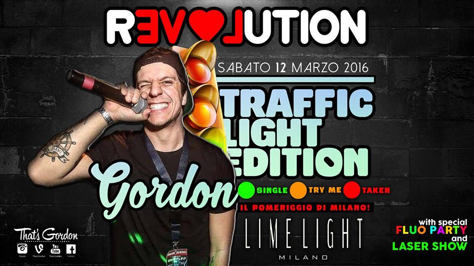 Gordon Lime Light Milano - Milanoindiscoteca