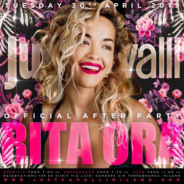 Foto: Rita Ora Just Cavalli Milano