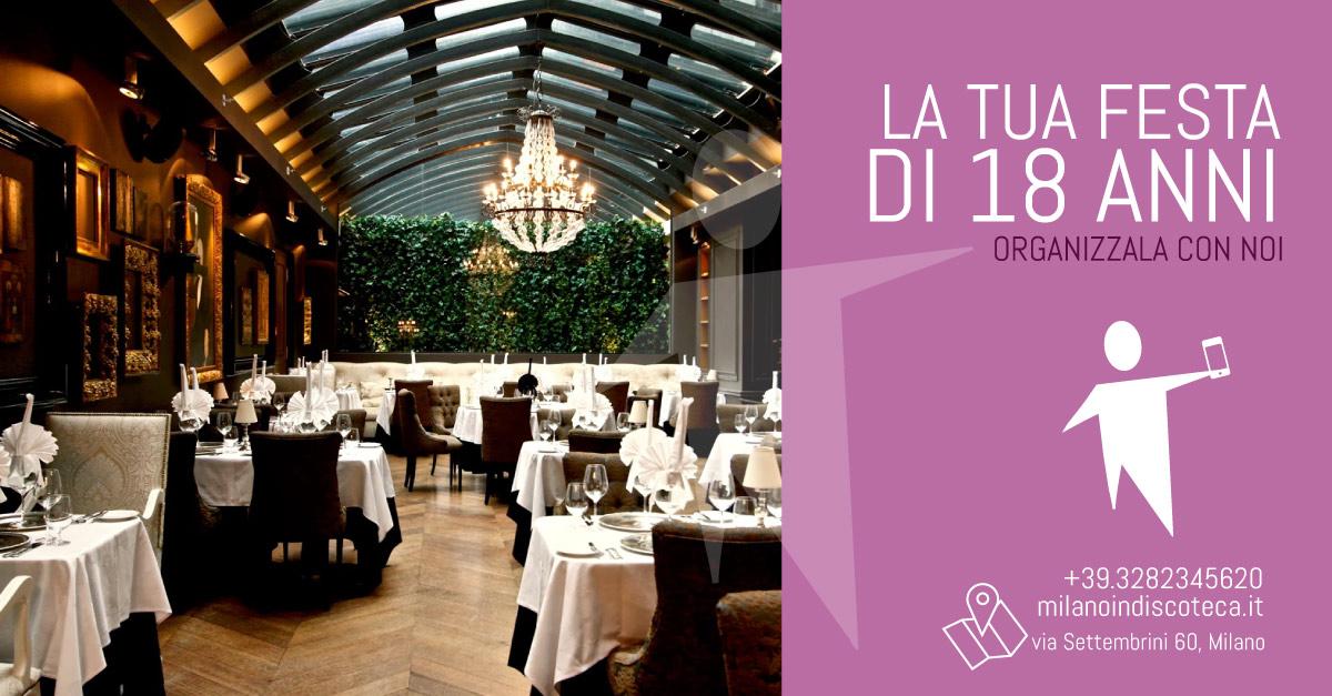 Favoloso Festa 18 anni a milano - organizza il tuo diciottesimo a Milano  IL97