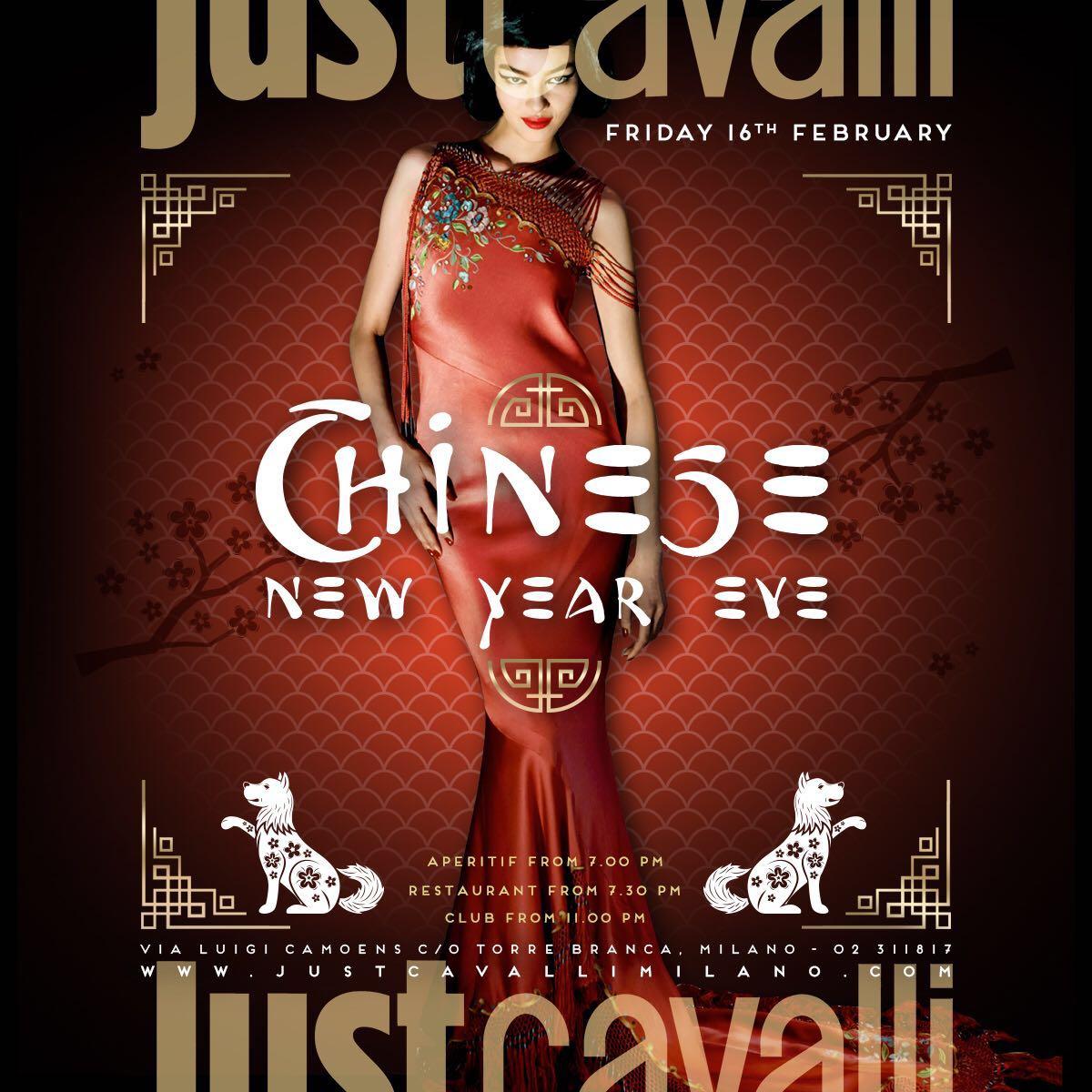 Foto: Venerdì Just Cavalli Milano Capodanno cinese