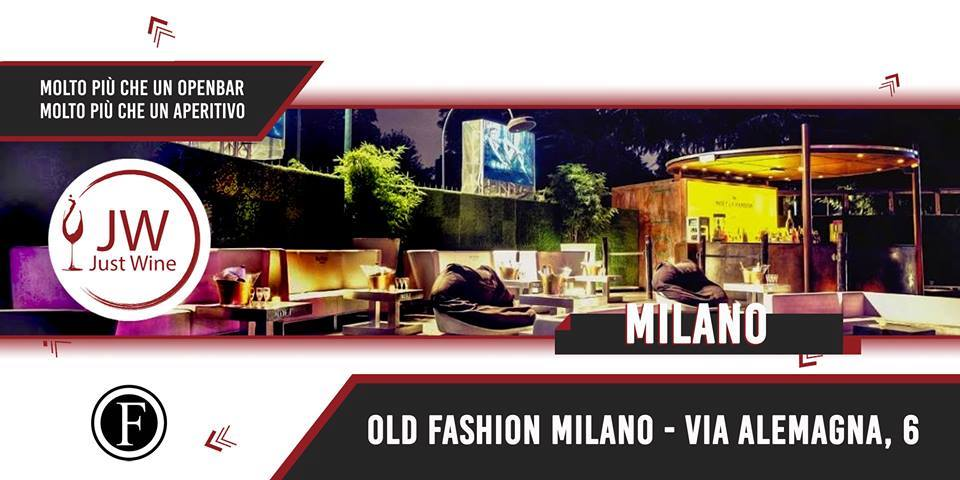 Foto: Giovedì Just wine Old fashion Milano