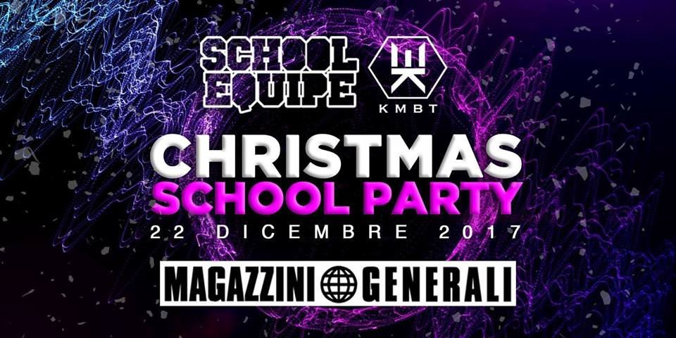 Foto: SCHOOL CHRISTMAS PARTY MAGAZZINI GENERALI MILANO