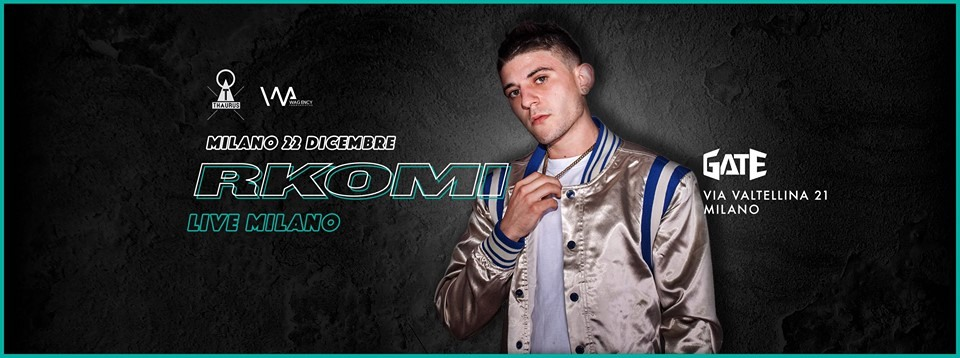 Foto: Rkomi Live – Gate Milano