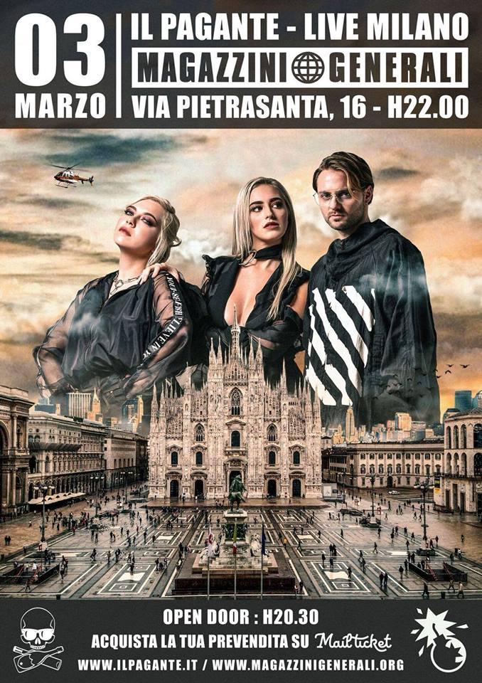 Foto: Il Pagante Magazzini Generali Milano
