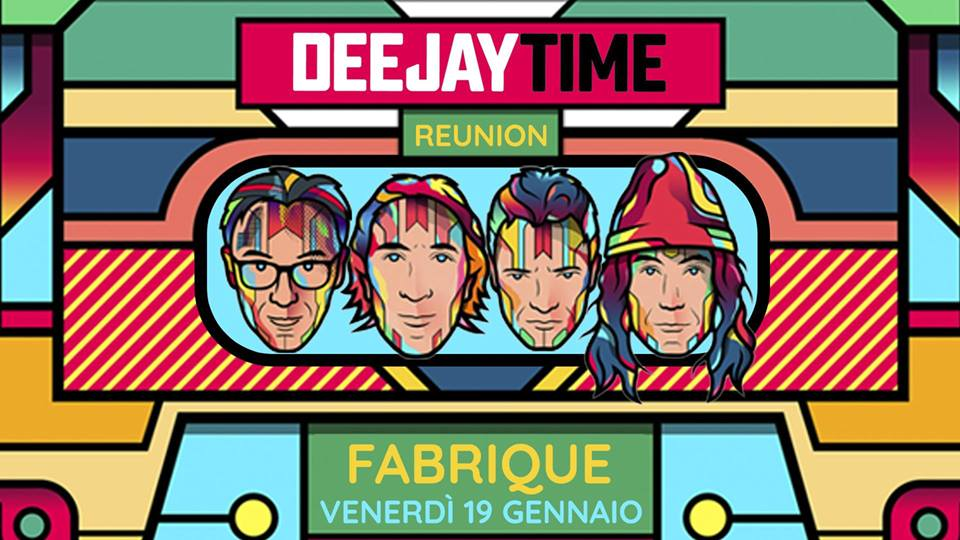 Foto: Deejay Time Reunion Fabrique Milano