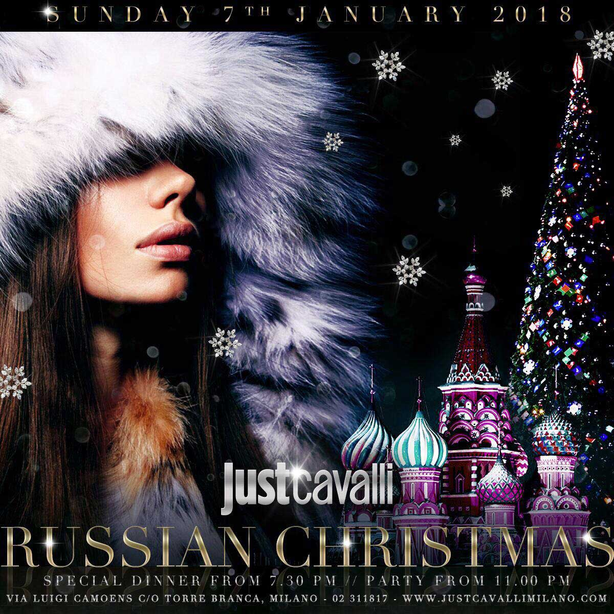 Foto: Russian Christmas Just Cavalli Milano