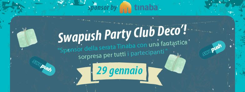 Foto: SWAP PARTY CLUB DECÒ MILANO