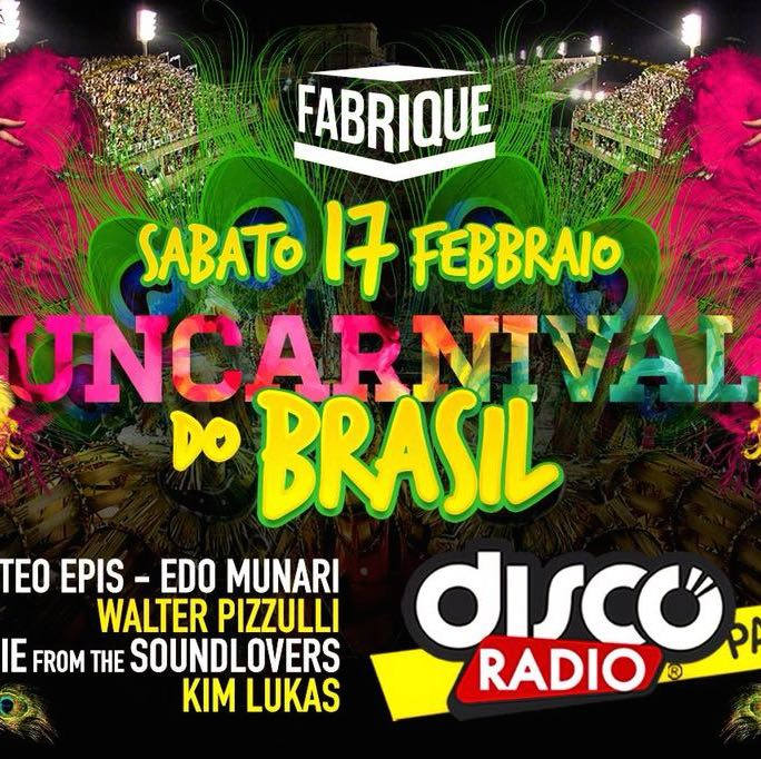 Foto: Carnevale Fabrique Milano discoradio party