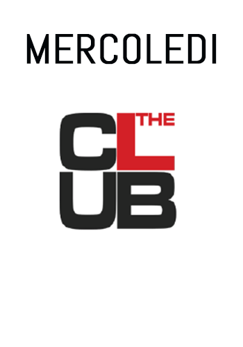 Immagine: MERCOLEDI THE CLUB SERATA ONE TWO