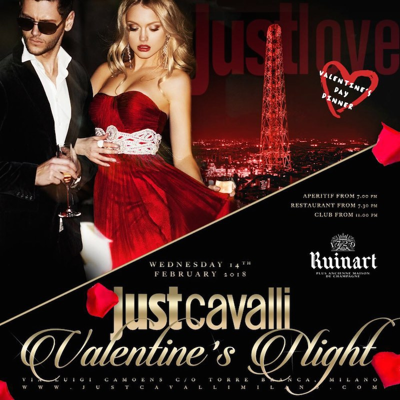 Foto: San Valentino Just Cavalli Milano