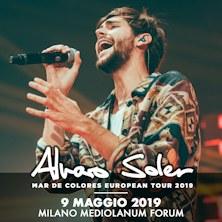 Foto: Alvaro Soler Mediolanum Forum Assago Milano