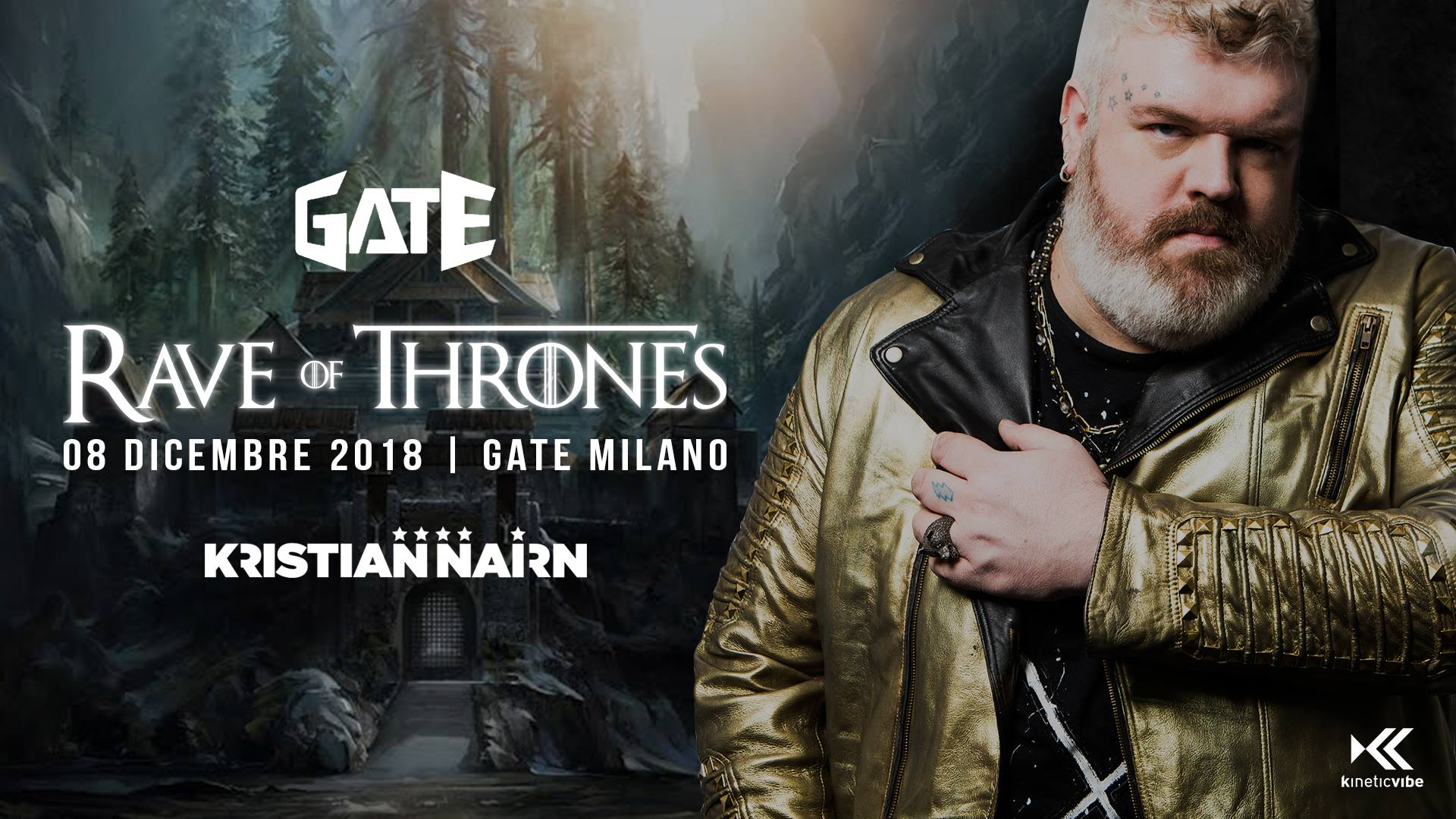 Foto: Rave of Thrones Gate Milano