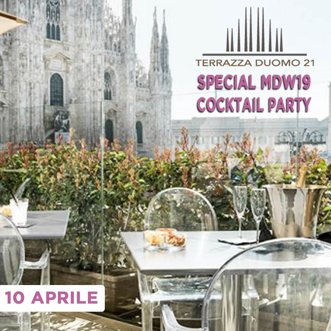 Terrazza Duomo 21 Mdw 10 Aprile Ingresso Su Accredito 3888945886