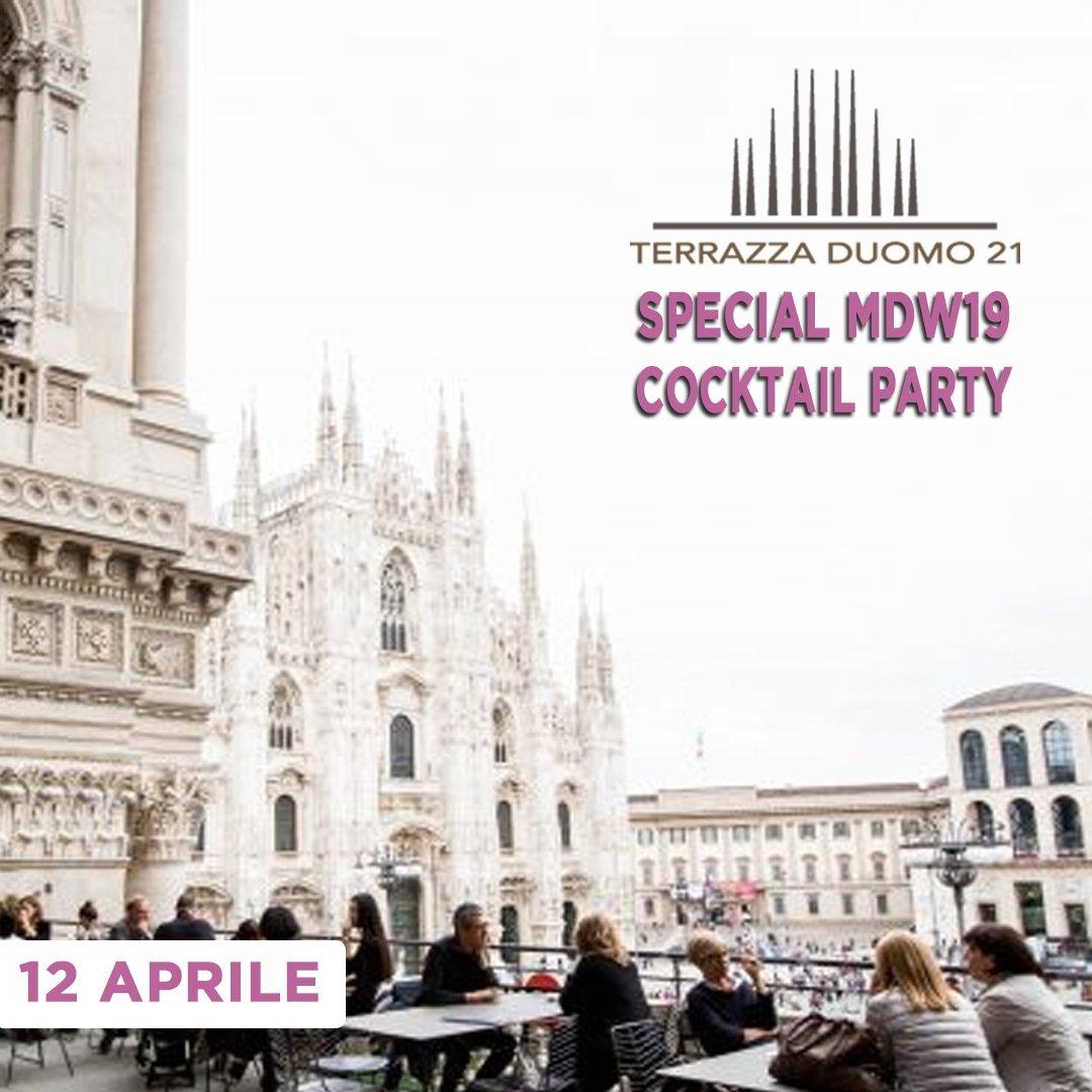 Foto: Terrazza Duomo 21 MDW Venerdi 12 Aprile
