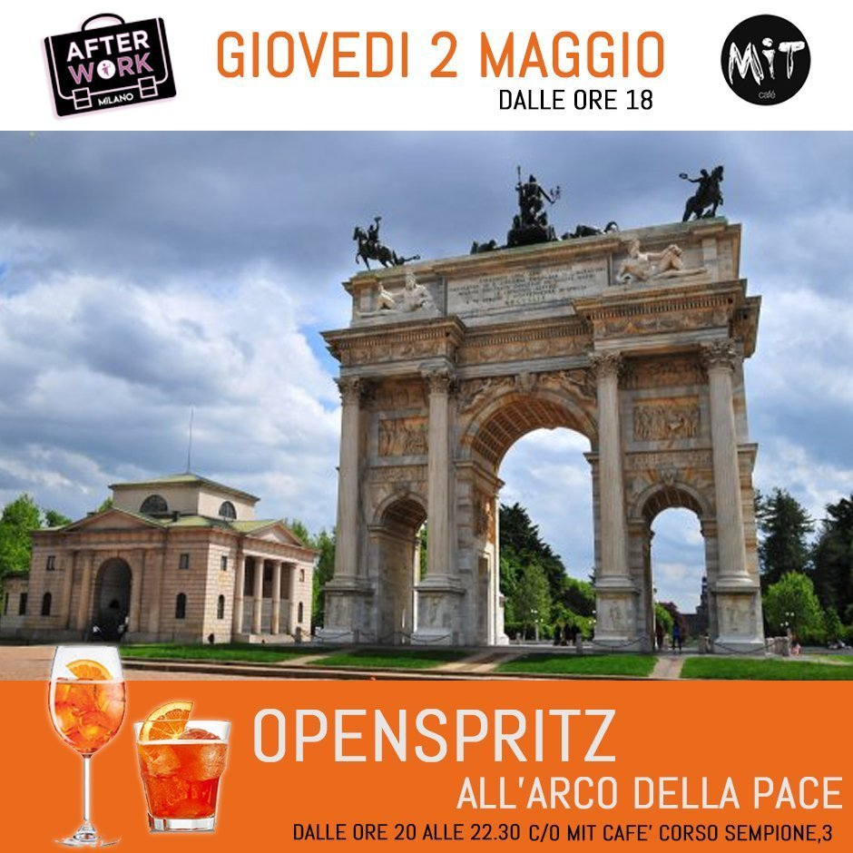 Foto: After Work Milano giovedi Mit Cafe
