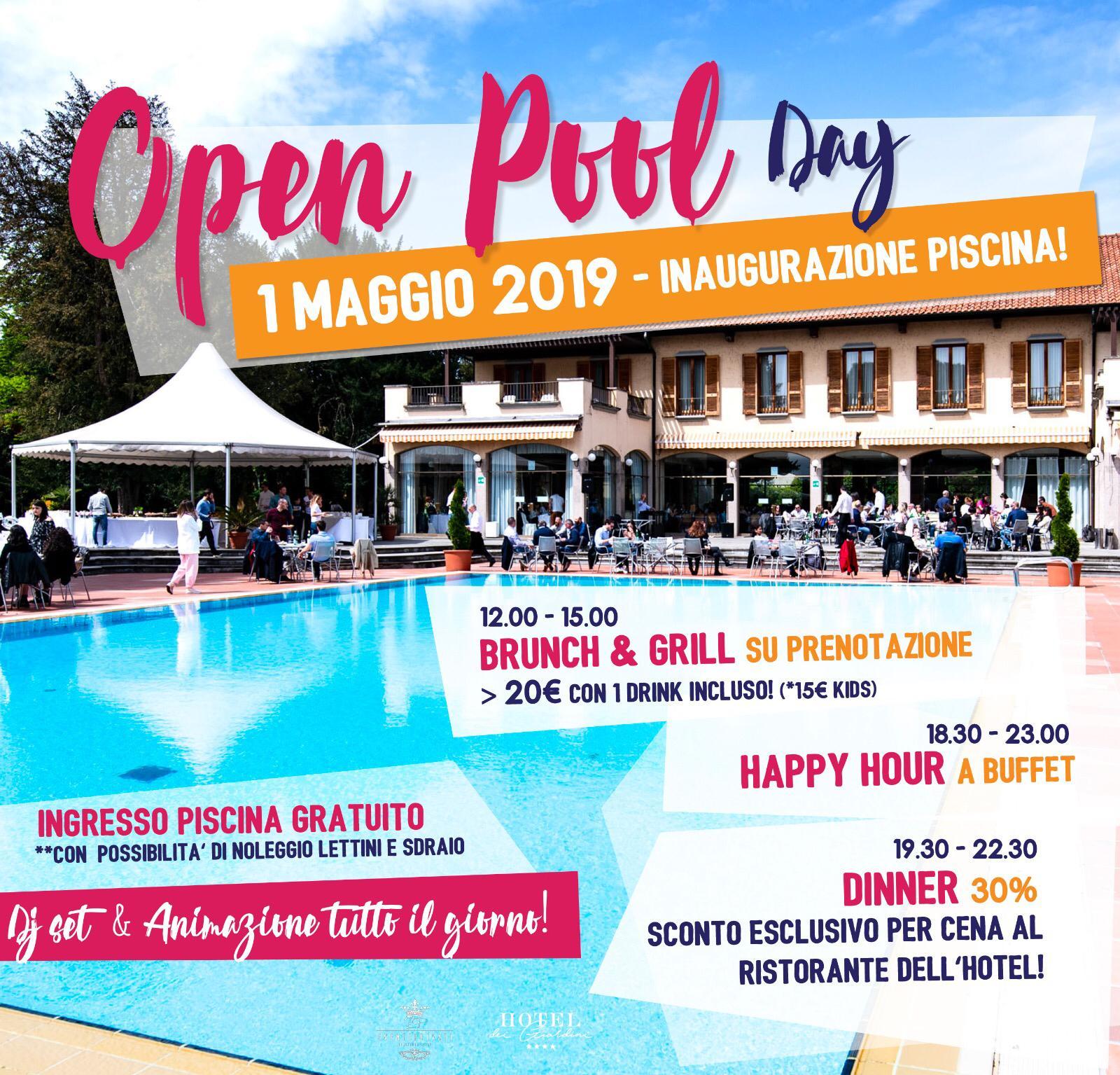 Foto: 1 maggio pool party con brunch e grigliata