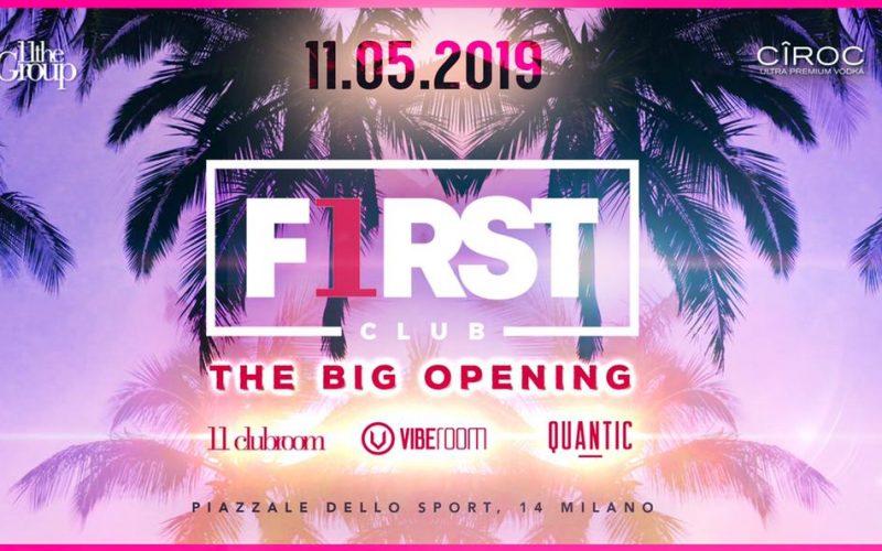 INAUGURAZIONE FIRST CLUB MILANO 2019