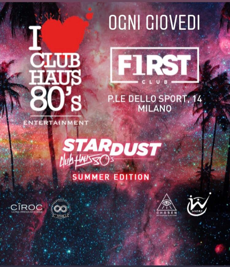 Foto: Giovedi First Club Milano Club Haus