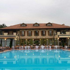 Villa dei giardini Nerviano