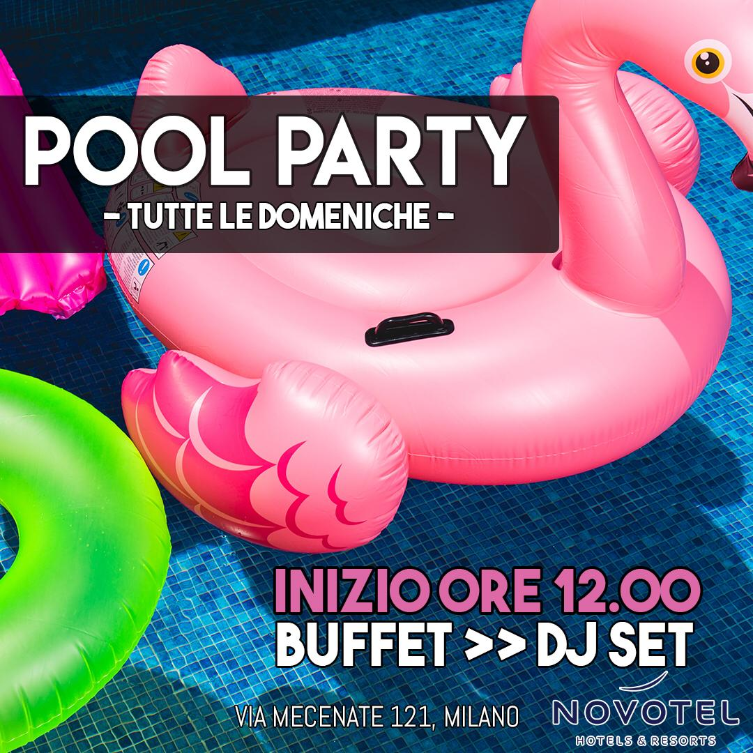 Foto: BRUNCH IN PISCINA MILANO NOVOTEL LINATE