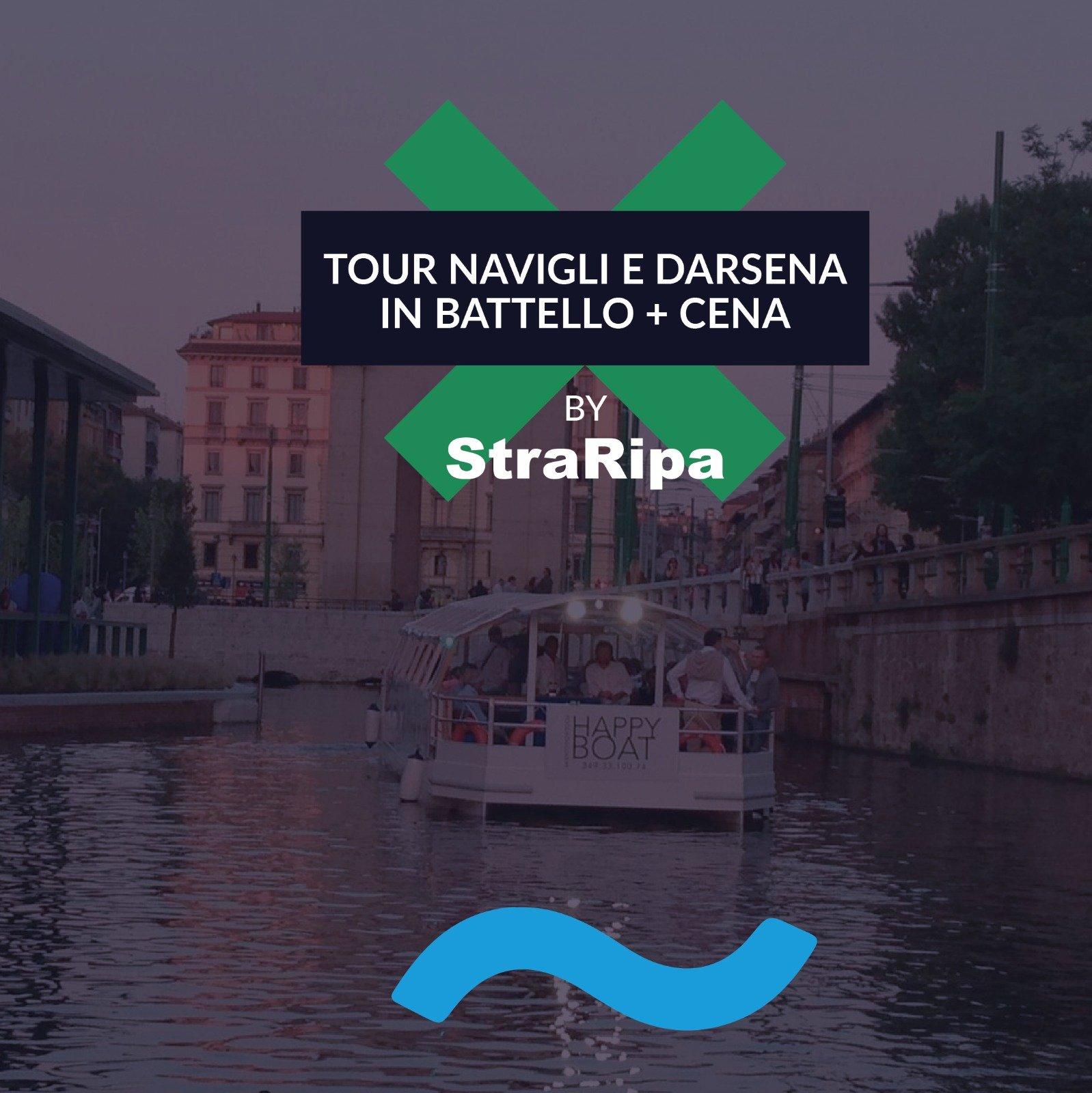 Foto: TOUR SUI NAVIGLI E DARSENA SUL BATTELLO