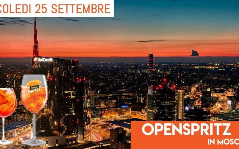OPEN SPRITZ MILANO: AFTER WORK RADDOPPIA