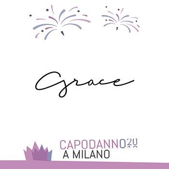 Capodanno Grace Milano 2020