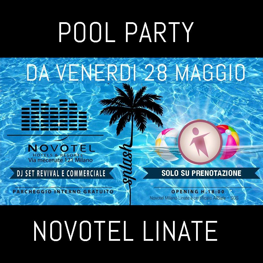 Foto: Venerdi Pool Party Novotel Linate